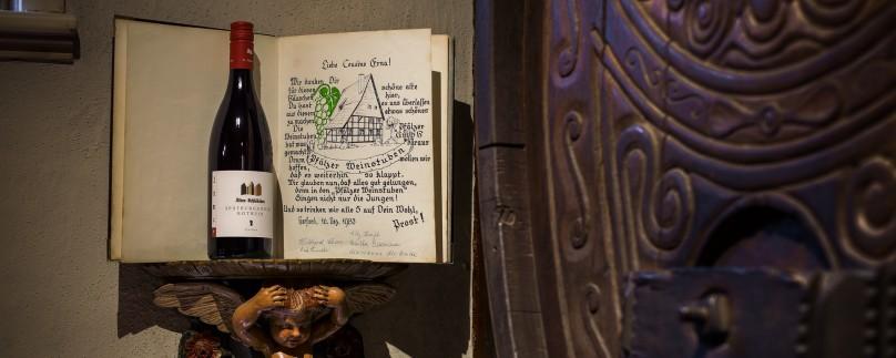 Das erste Gästebuch